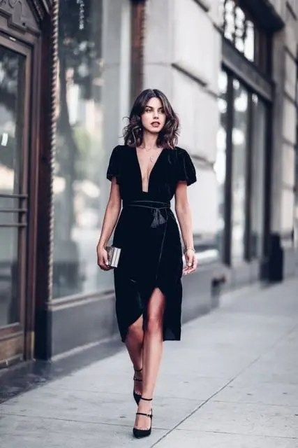 Velvet Outfits | Gorgeous Fall Wedding Guest Outfits