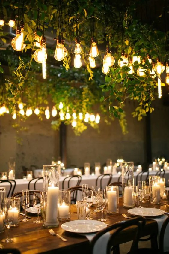 25 Edison Bulb Wedding Ideas For A Bit Of Edge Crazyforus