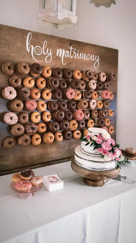 Picture Of If You Are Serving Donuts Make A Trendy Donut