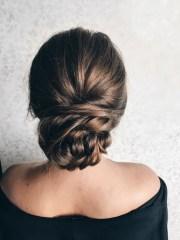 chic bun hairstyles