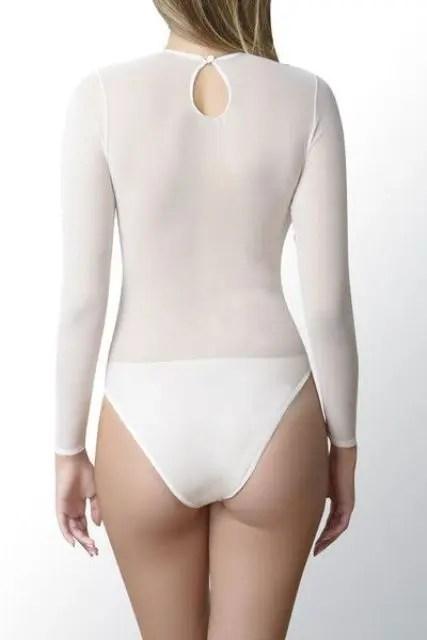 mesh sheer illusion spandex stretch bridal bodysuit is a nice shapewear idea to go for