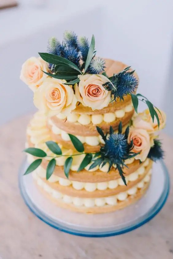 Mediterranean Wedding Food & Cakes