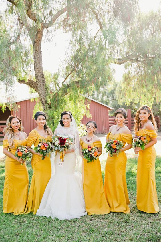 7694d0ea2d0cfa 5 Biggest Bridesmaid Dress Trends And 31 Examples For 2019 - crazyforus