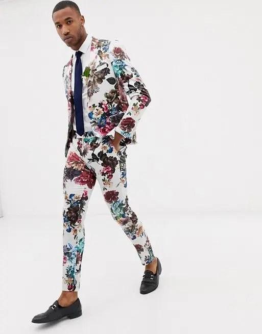 25 Edgy Floral Groom S Suits You Gonna Love Crazyforus