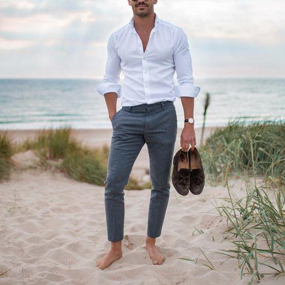 Mens Summer Wedding Attire.24 Beach Wedding Guest Outfits For Men Crazyforus