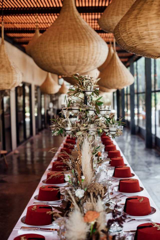 Spectacular Moroccan Wedding Featuring Maximalism Trend