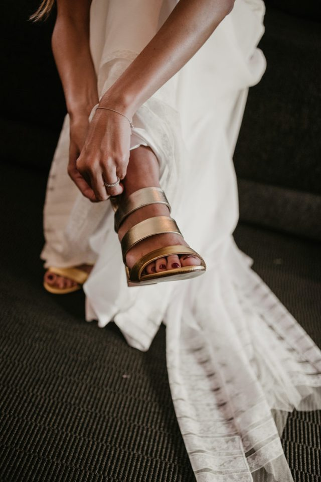 strappy silver mules are a cool idea, they are trendy and metallics is a bright and shiny touch
