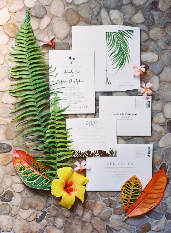 Hawaii Wedding Inspired By Maui Sunsets