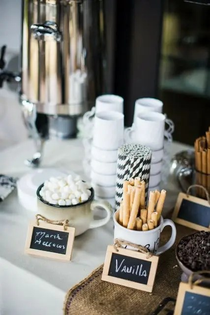 21 Hot Chocolate Bar Ideas For Your Winter Wedding  crazyforus