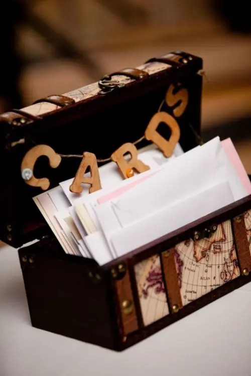 22 Creative Wedding Card Box Ideas  Weddingomania