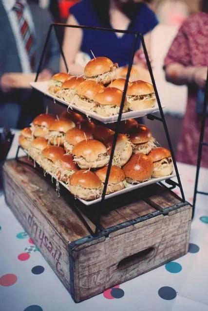 23 Yummy Wedding Burger Ideas And Ways To Display Them  Weddingomania