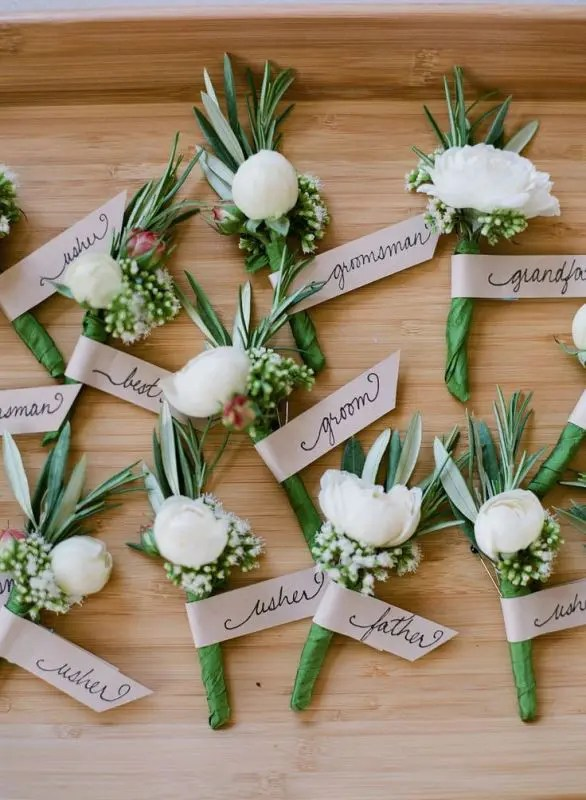 Beautiful Green Wedding Decorations With White And Centerpieces