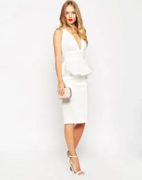 23 White Cocktail Dresses For All Wedding Related Parties ...