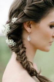 awesome bridal fishtail braids