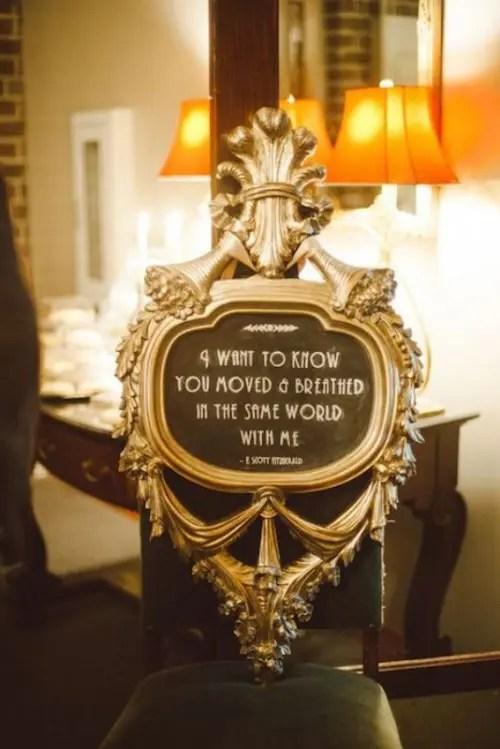 25 Vintage Inspired Great Gatsby Themed Rehearsal Dinner
