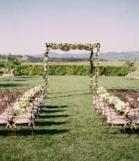 Picture Of amazing backyard wedding ceremony decor ideas 1