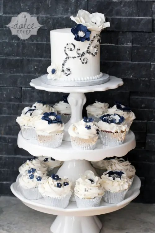 29 Gorgeous Navy And Silver With A Sparkle Wedding Ideas  Weddingomania