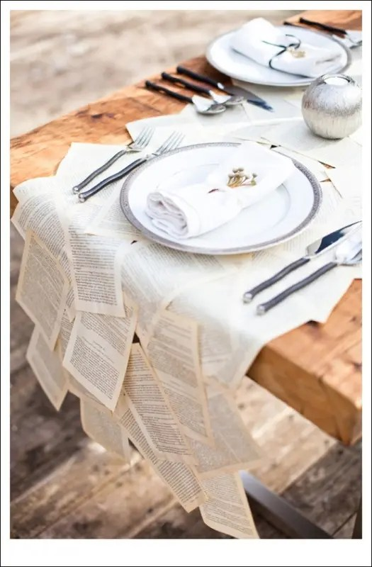 picture of wedding table