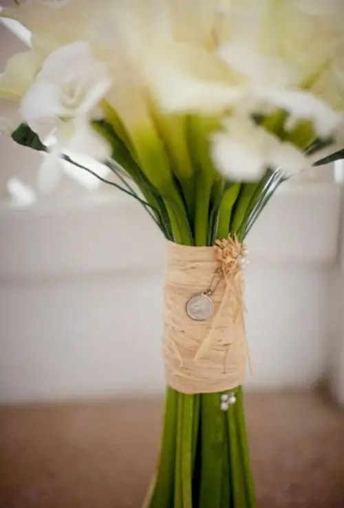 35 Gorgeous Wedding Bouquet Wraps Holders And Handles