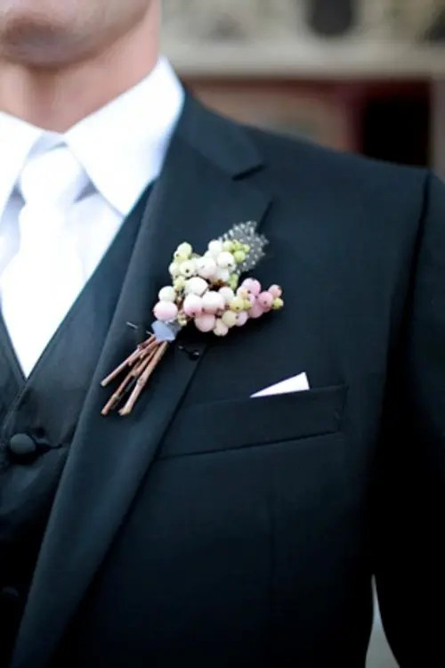 35 Unique Boutonnieres Ideas For Perfect And Special Grooms Look  Weddingomania