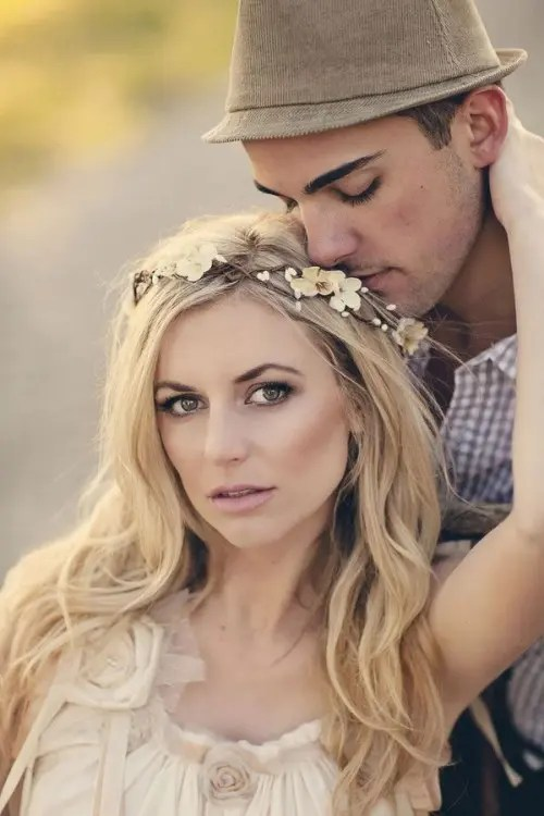 43 Awesome Boho Chic Bridal Headpieces Weddingomania