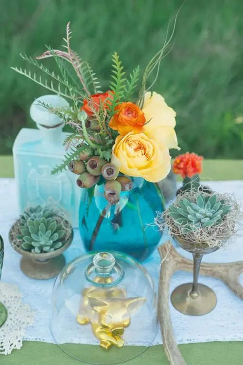 34 Bold And Eye Catching Boho Chic Wedding Centerpieces Weddingomania
