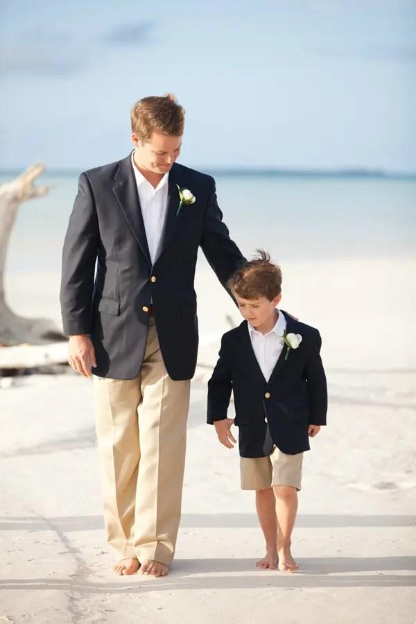 Cool Beach Wedding Groom Attire