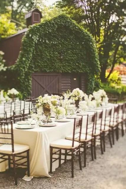 37 Cool Outdoor Barn Wedding Ideas  Weddingomania