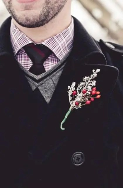 Grooms Boutonnieres Ideas