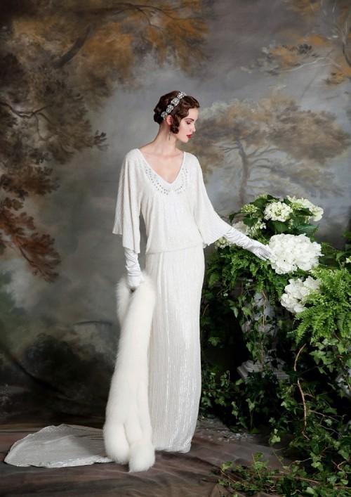 Downton AbbeyInspired Wedding Dresses By Eliza Jane