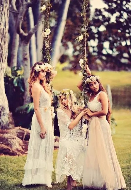 Picture Of Dreamy Woodland Boho Chic Wedding Ideas 10