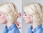 diy bridal hairstyles short hair