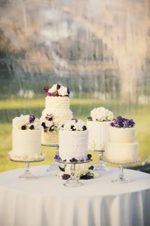 How To Display Multiple Wedding Cakes 27 Amazing Ideas  Weddingomania