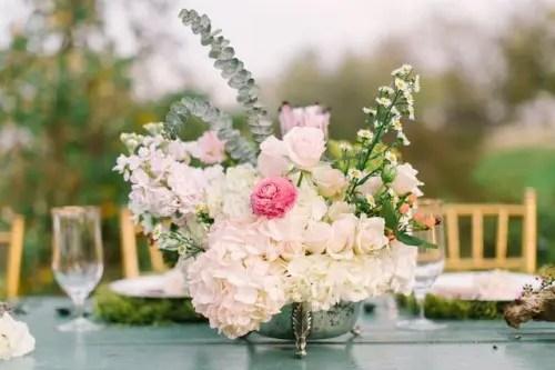 Monet Water Lilies Themed Wedding Shoot Weddingomania