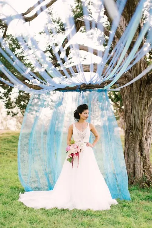 Monet Water Lilies Themed Wedding Shoot  Weddingomania