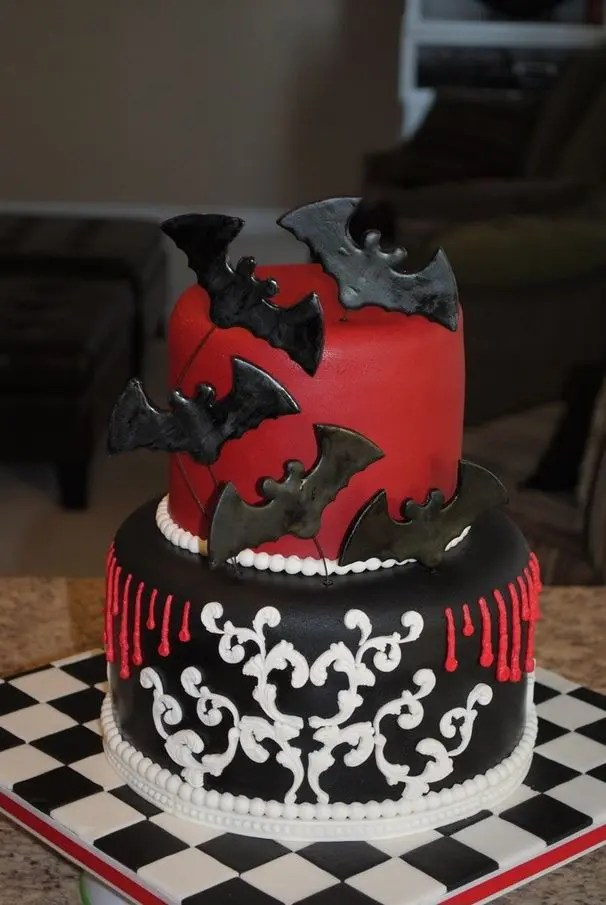 Picture Of Original Halloween Wedding Cakes