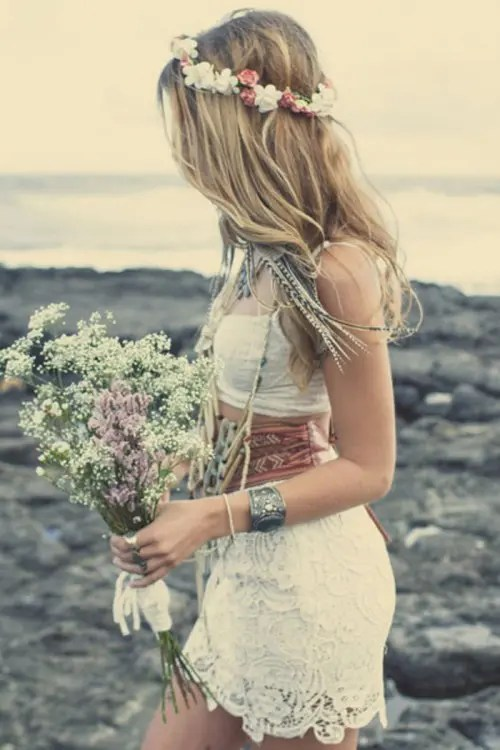62 Relaxed Boho Chic Beach Wedding Ideas  Weddingomania