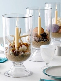 35 Romantic Beach Wedding Table Settings - Weddingomania