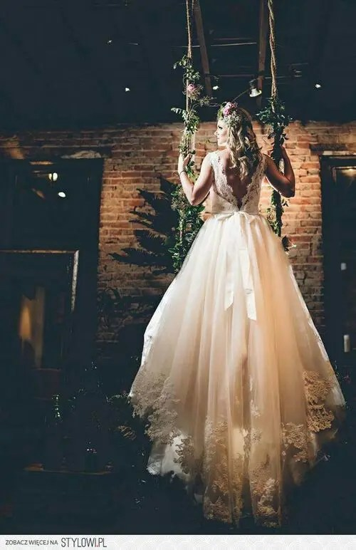 26 Unique Woodland Wedding Gowns To Rock  Weddingomania