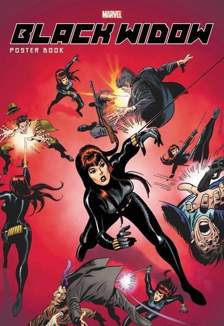 black widow poster book