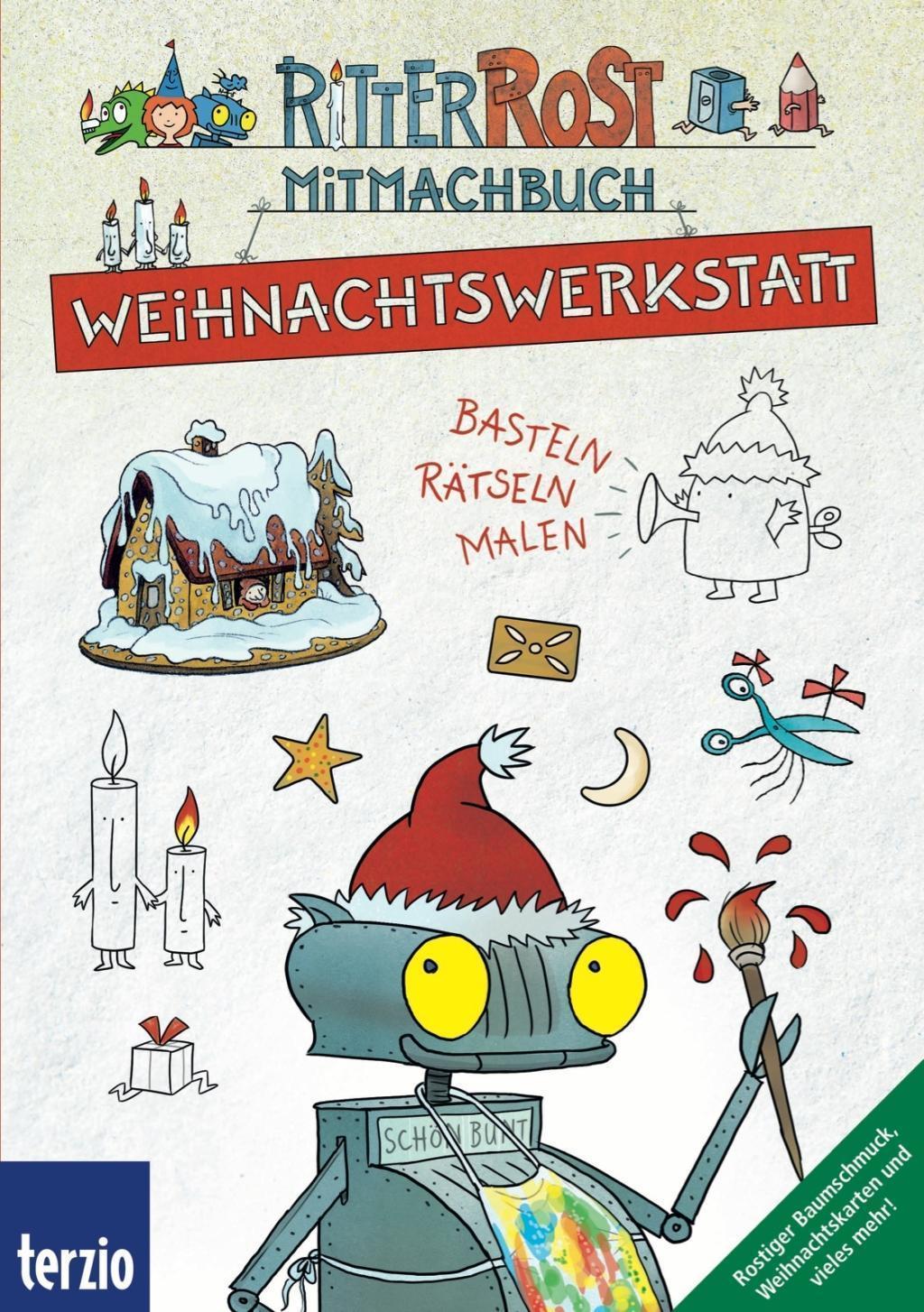 Ritter Rost Mitmachbuch Weihnachtswerkstatt Buch