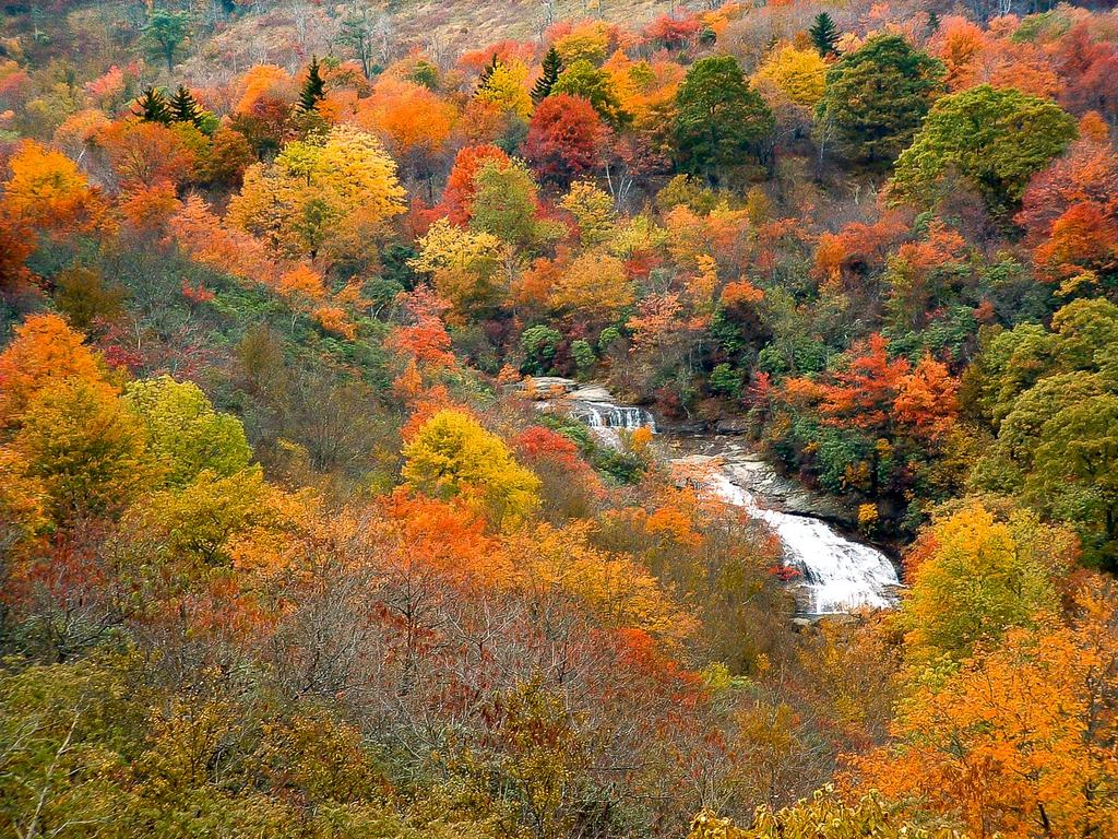 Adirondack Fall Wallpaper Graveyard Fields Area Hiking Waterfalls Mountains Meadows