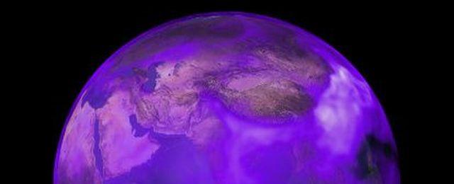 Fioletowe oblicze Ziemi
