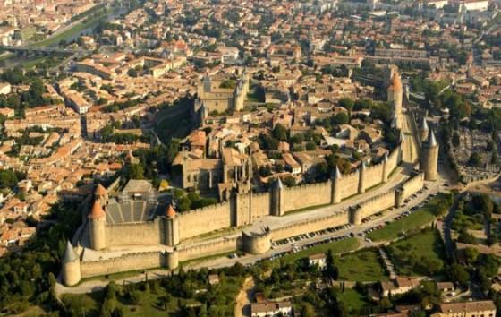 Znalezione obrazy dla zapytania carcassonne zamek
