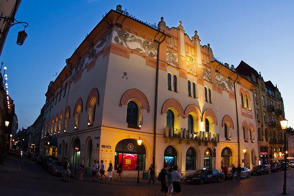 Siedziba Teatru Starego w Krakowie