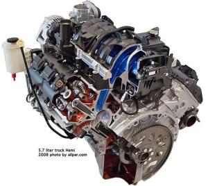 Półkuliste komory spalania  nie tylko Chrysler | Autokultpl