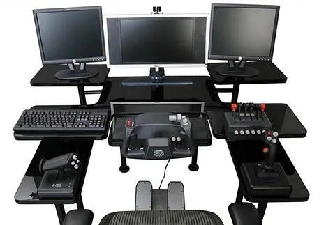 best ergonomic desk chairs 2018 outdoor swivel rocking komputerowe biurko dla graczy | gadżetomania.pl