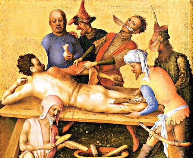 Obdzieranie ze skóry żywcem - 7 przerażających sposobów wykonania ...