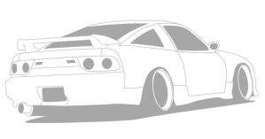 drawing 240sx transparent jdm stencil clipart s13 sketch ywd