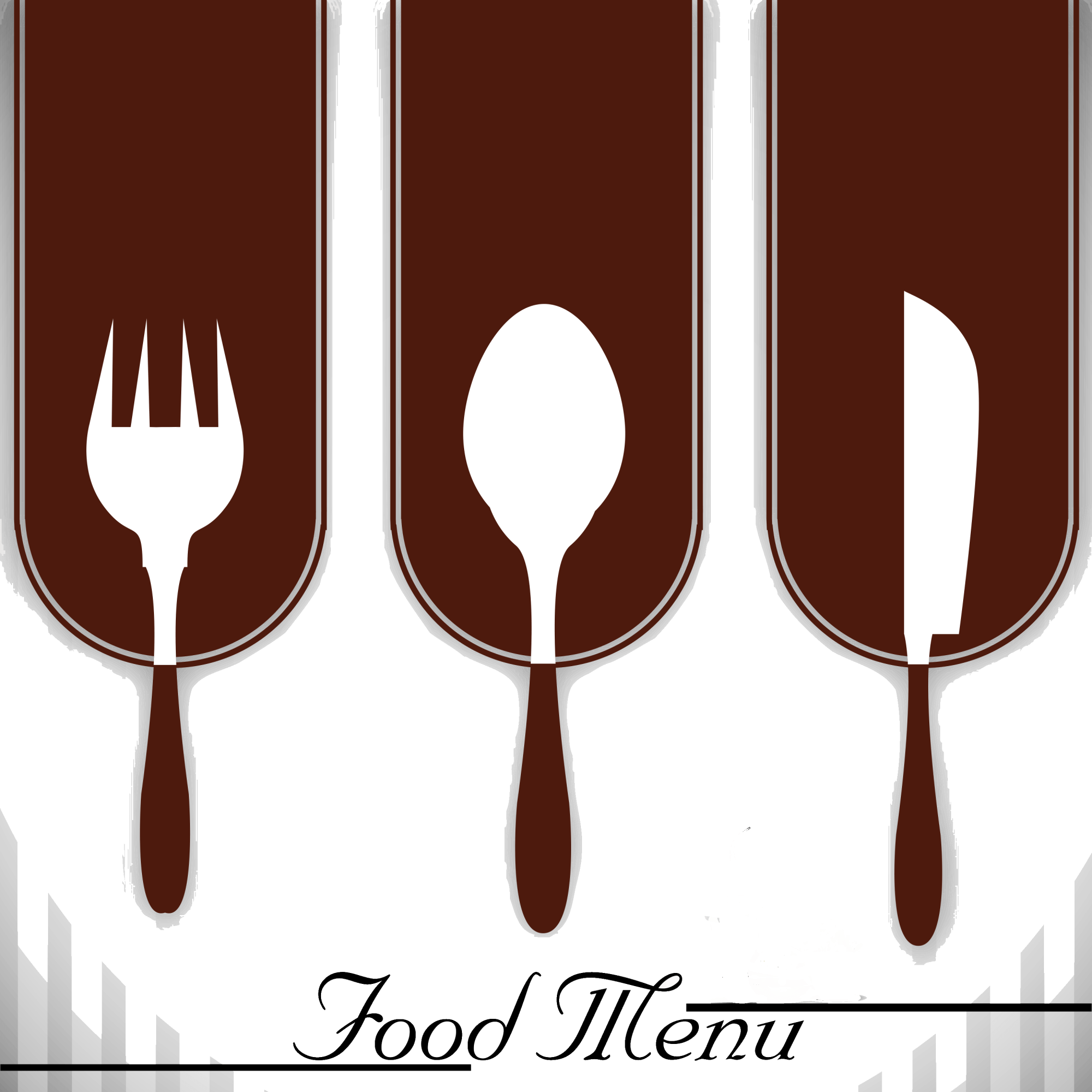 hight resolution of cutlery vector culinary steak lobster at the